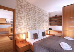 維謝赫拉德公寓式酒店 - 布拉格 - 臥室