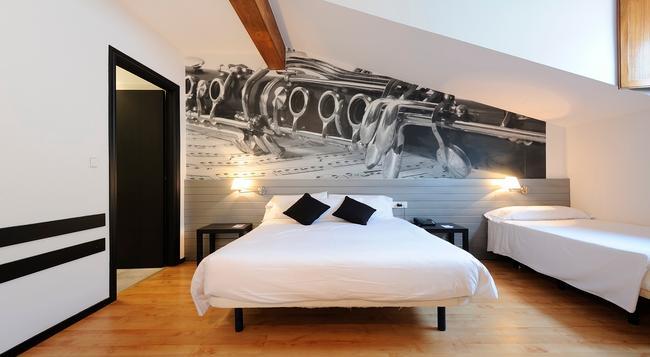 Abba Jazz Hotel - 維多利亞 (西班牙) - 臥室