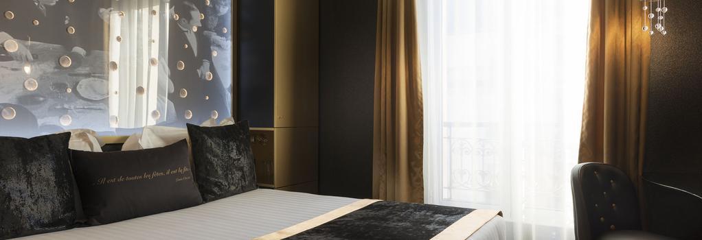 Hotel Les Bulles De Paris - 巴黎 - 臥室