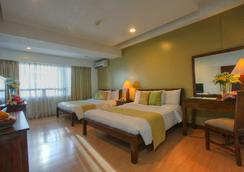 馬來亞廣場酒店 - 馬尼拉 - 臥室