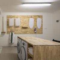 Hotel Light Laundry Room