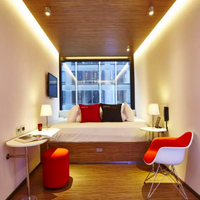 citizenM New York Times Square Guestroom