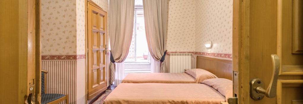 Hotel Orbis - 羅馬 - 臥室
