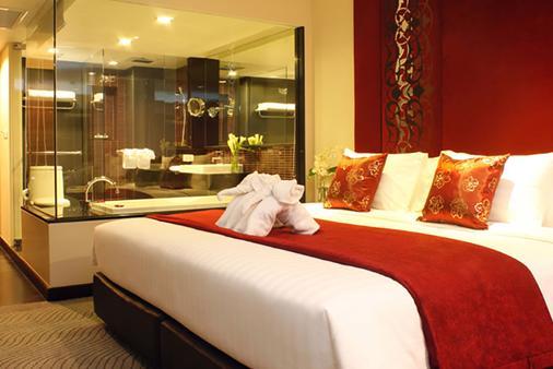 西隆富麗華酒店(原西隆尤尼可大酒店) - 曼谷 - 臥室