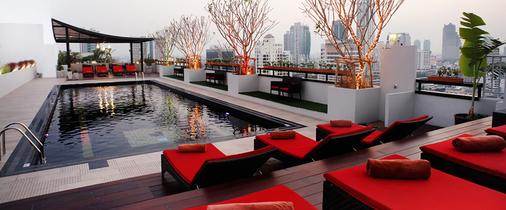西隆富麗華酒店(原西隆尤尼可大酒店) - 曼谷 - 游泳池