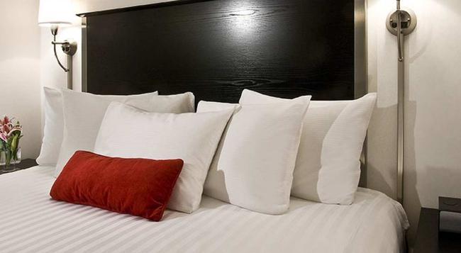 36 Hudson Hotel - 紐約 - 臥室