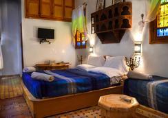 里亞德韋魯斯酒店 - 非斯 - 臥室