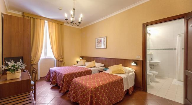 Hotel Corona - 羅馬 - 臥室