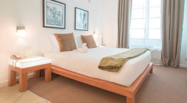 The Mimosa Hotel - 邁阿密海灘 - 臥室