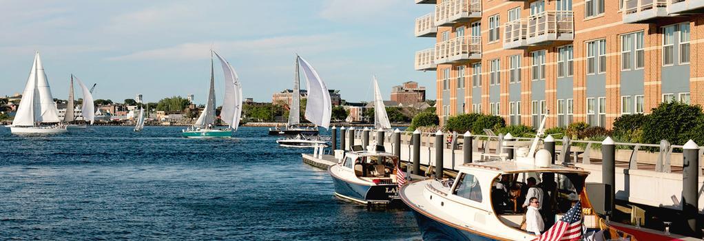 Battery Wharf Hotel, Boston Waterfront - 波士頓 - 建築