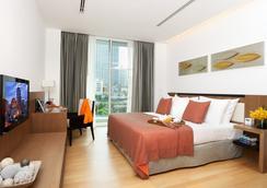 莎瑪素坤逸服務式公寓酒店 - 曼谷 - 臥室