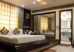 丹尼斯酒店 - 新德里 - 臥室