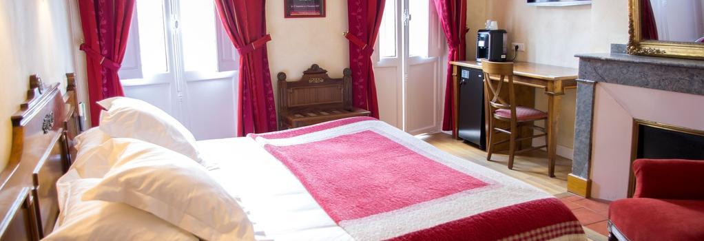 Hôtel Albert 1er - 圖盧茲 - 臥室