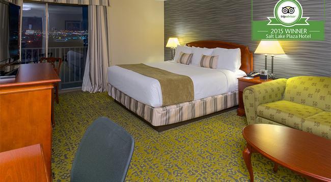 Salt Lake Plaza Hotel at Temple Square - 鹽湖城 - 臥室