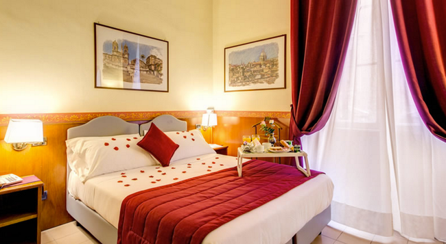Hotel Giotto Flavia - 羅馬 - 臥室