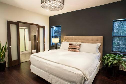 市區伊奧酒店 - 奧蘭多 - 臥室