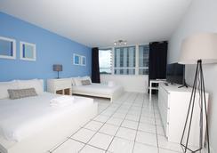 邁阿密設計套房豪華公寓式酒店 - 邁阿密海灘 - 臥室