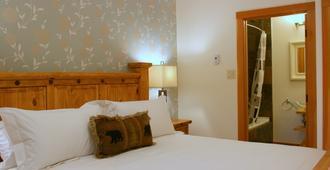 峽谷嶺旅館 - 戈爾登 - 臥室
