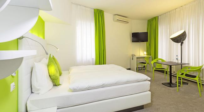 Hotel City Inn - 巴塞爾 - 臥室