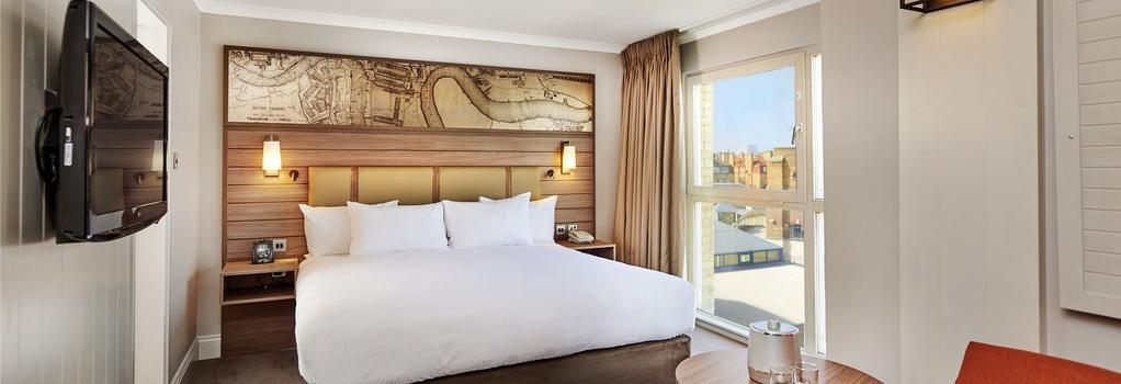 DoubleTree by Hilton London - Docklands Riverside - 倫敦 - 臥室