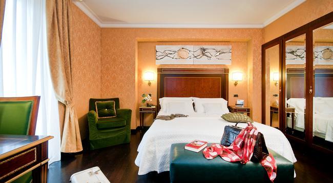 Trilussa Palace Hotel Congress & SPA - 羅馬 - 臥室