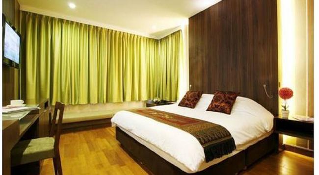 Monal Boutique Hotel - 聖安東尼奧 - 臥室
