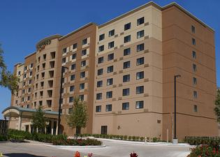 休斯敦醫學中心庭院酒店