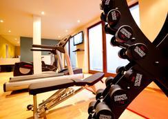 阿克娜巴赫14生活旅館 - 萊比錫 - 健身房