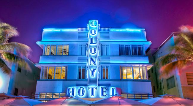 The Colony Hotel - 邁阿密海灘 - 建築