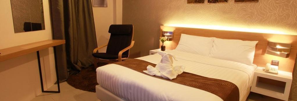 DWJ Hotel - 怡保 - 臥室