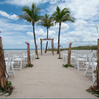 B Ocean Resort Outdoor Wedding Area