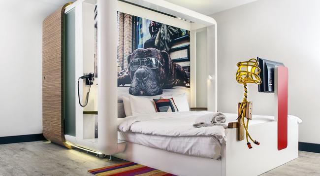 Qbic Hotel London City - 倫敦 - 臥室