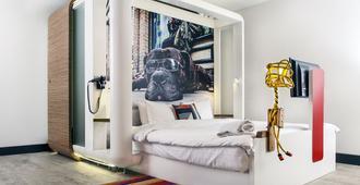 倫敦市丘比克酒店 - 倫敦 - 臥室