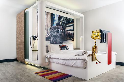 倫敦市丘比克飯店 - 倫敦 - 臥室