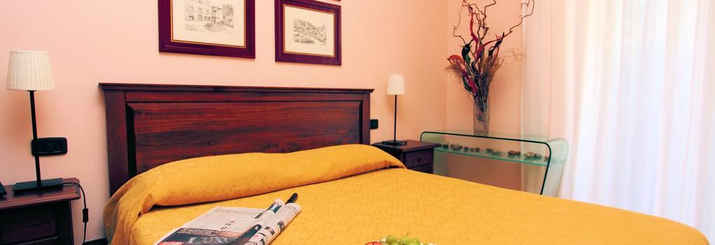 Hotel Villa Dei Giuochi Delfici - 羅馬 - 臥室