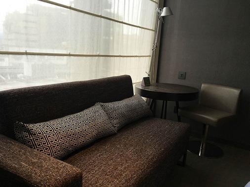 德立莊酒店 - 台北 - 客廳