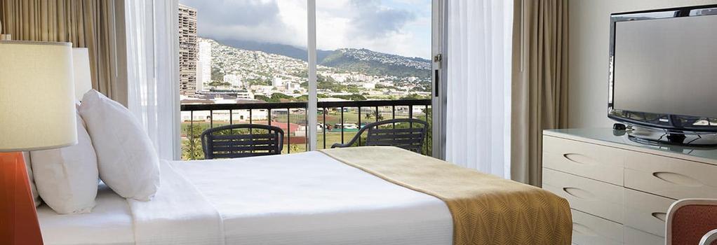 Coconut Waikiki Hotel - 檀香山 - 臥室