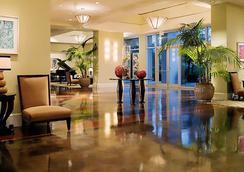 達拉斯/沃斯堡萬豪酒店及冠軍高爾夫俱樂部 - 沃思堡 - 大廳