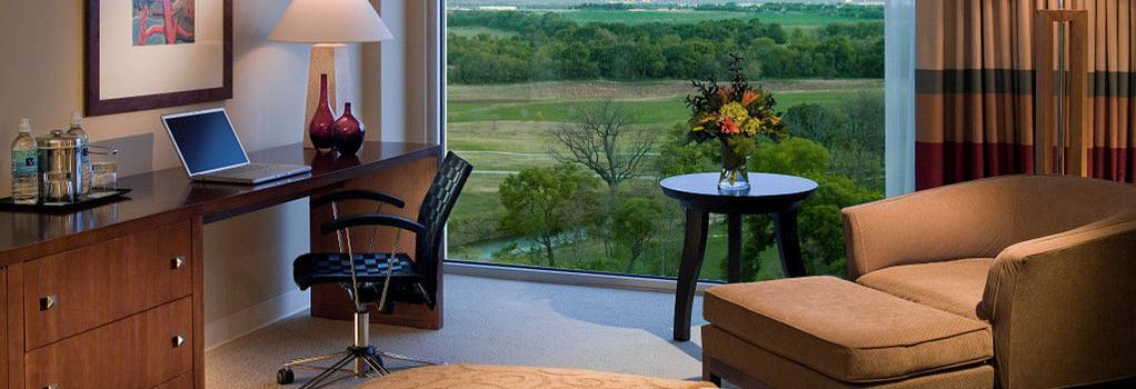 Dallas Fort Worth Marriott Hotel and Golf Club at Champions Circle - 沃思堡 - 臥室