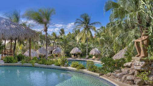 伊甸園精品酒店 - Tamarindo - 游泳池