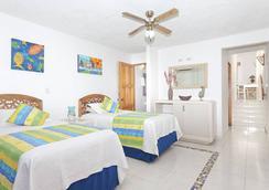 可可普拉姆海灘酒店 - San Andrés - 臥室