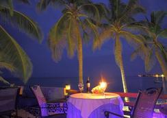 可可普拉姆海灘酒店 - San Andrés - 餐廳