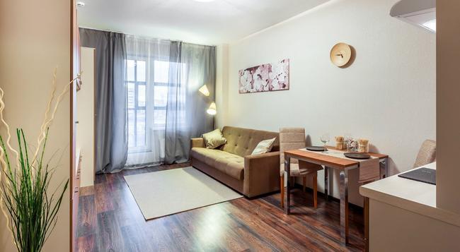 Prima Apart Hotel - 聖彼得堡 - 臥室