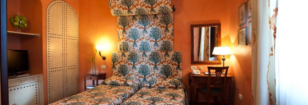 Hotel Vecchio Borgo - 巴勒莫 - 臥室