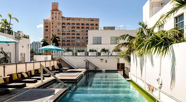Posh South Beach Hostel, A South Beach Group Hotel - 邁阿密海灘 - 建築