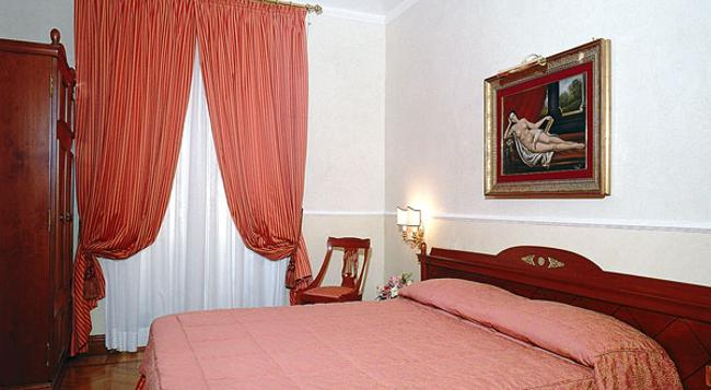 Hotel Palladium Palace - 羅馬 - 臥室
