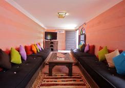 里亞德達累斯薩拉姆拉迪亞旅館 - 馬拉喀什 - 客廳