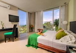 聖托里尼度假酒店 - 聖瑪爾塔 - 臥室