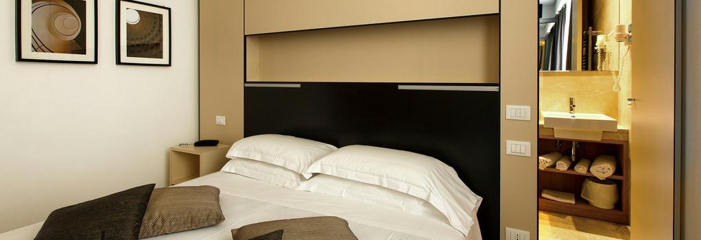 Hotel Smeraldo - 羅馬 - 臥室