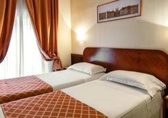 綠寶石酒店 - 羅馬 - 臥室